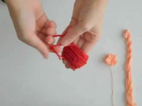 5 Minute DIY: Yarn Pom Poms