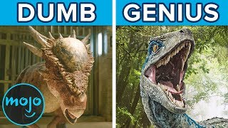 Top 10 Dinosaur Facts That Inspired Jurassic World
