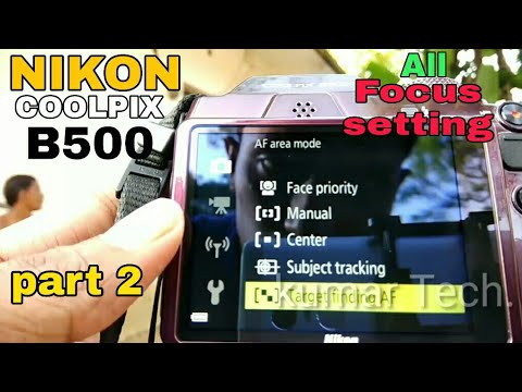 NIKON COOLPIX B500#Manual Focus setting full review#kumar tech part 2