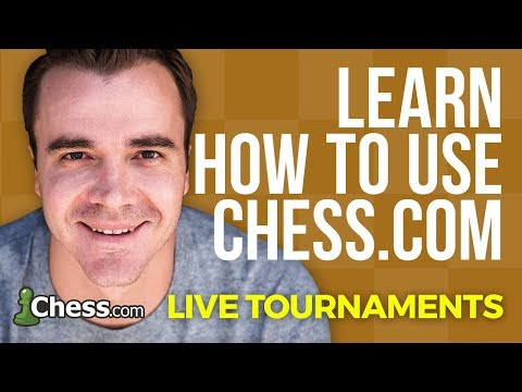 Using Chess.com: How To Create Your Own Live Tournaments