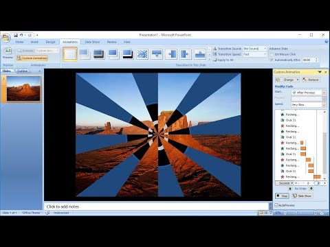 Powerpoint training |How to Create Custom Animation of Countdown Timer in powerpoint