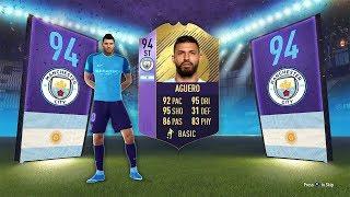 94 RATED POTM SERGIO AGUERO! - FIFA 18 Ultimate Team
