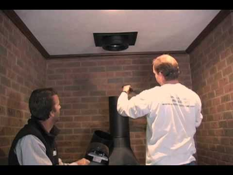Class A chimney stove replacement Part 2