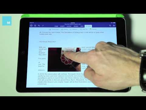 Hands On: Microsoft Office for iPad
