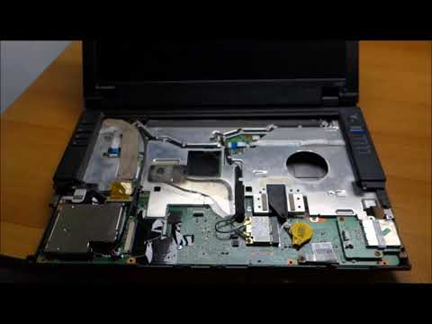 Repairing a Lenovo ThinkPad L420 laptop with L412 parts