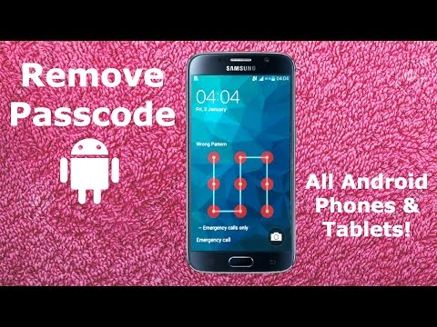 How To Remove Password On Android Phone & Tablet | Tutorial Disable Passcode