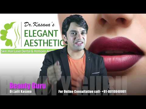 HOME MADE LIP BALM FOR PINK LIPS 100% NATURAL AND EFFECTIVE  by Dr.Lalit Kasana