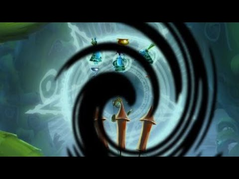 Rayman Legends Ray and the beanstalk - Invaded Gold Cup (24.86 seconds)