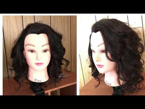 Long layered hair cut tutorial- 180 degree haircut