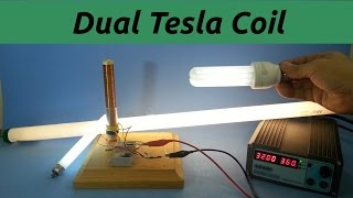 Dual Primary Tesla Coil