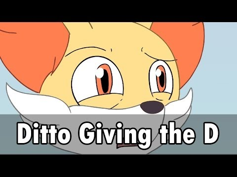Fennekin is Swooned by Ditto's Majestic Charisma