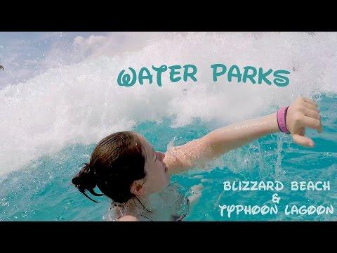 Blizzard Beach & Typhoon Lagoon | Walt Disney World Trip 2015 | Episode 6 | GoPro Hero 4