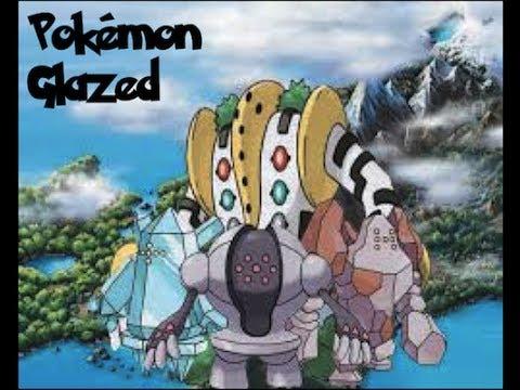 Pokemon Glazed: How to get Regice, Registeel, Regirock & Regigigas