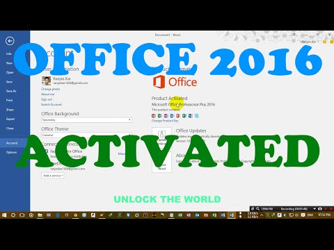 How To Activate Office 2016 In Windows 10 Pro Build 10240