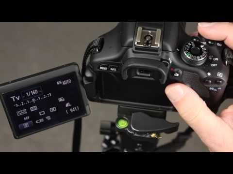 canon 600D Selecting AV, TV and Manual modes