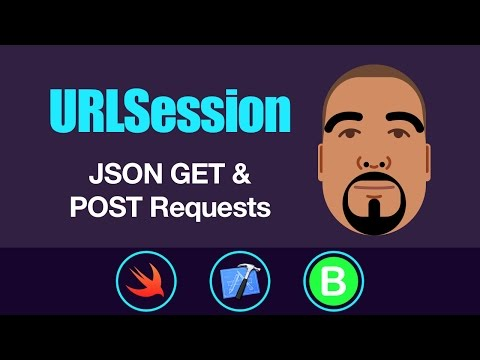 URLSession: JSON GET & POST Requests | Swift 3, Xcode 8