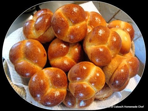 How to make Clover Leaf bread Rolls - Bread Recipe