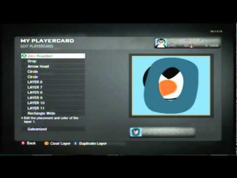 Emblem Guide for Black Ops - Cute Penguin