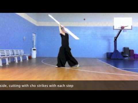 Shii Cho Dulon: saber staff