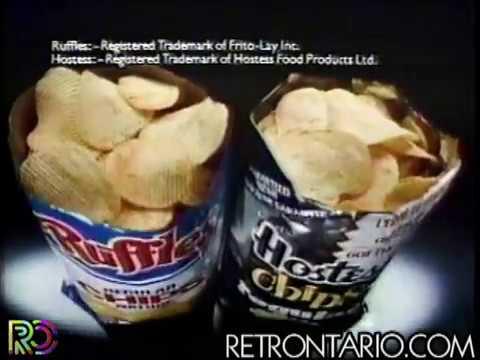 Ruffles vs Hostess Chips Taste Test (1984)