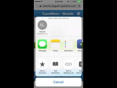 How to Bookmark a Webpage on an IOS Device (iPhone, iPad, etc.)