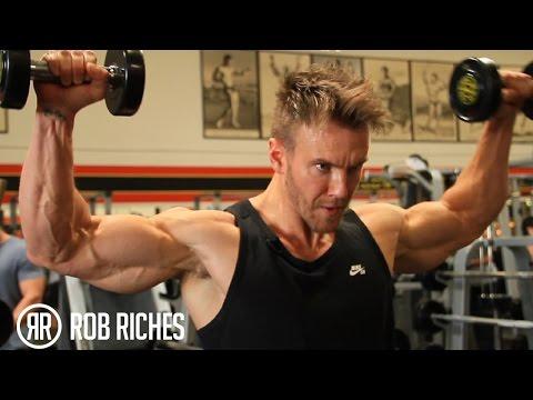 Rear Deltoids & Rotator Cuffs - Rob Riches
