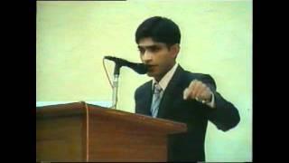 Allama Iqbal Shield English Debate Competition 2011 1st Prize winner.avi