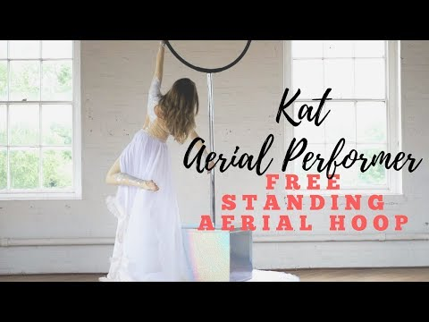 Kat - Aerial Performer // Available To Hire At Warble Entertainment