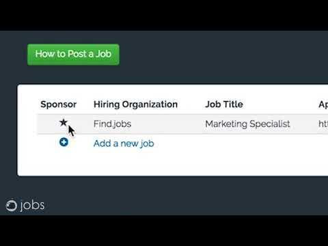 Find.jobs Account Walkthrough