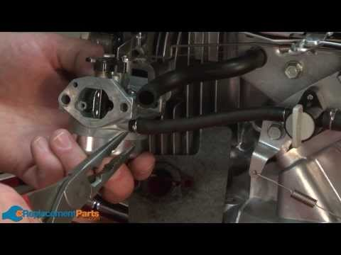 How to Replace the Carburetor on a Troy-Bilt TB130 Lawn Mower (Part # 16100-Z0L-853)