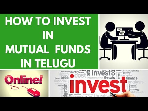 HOW TO INVEST IN MUTUAL FUNDS IN TELUGU-ONLINE AND OFFLINE (2018)