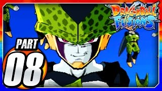 Dragon Ball Fusions 3DS English: Part 8 - Cell Games! Perfect Cell