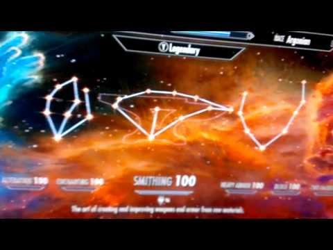Skyrim level 251 ALL perks with 1.9 update Xbox