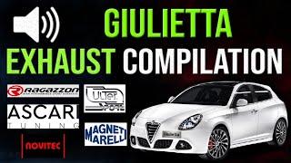 Alfa Romeo Giulietta Exhaust Sound 🔥 Ulter, Ragazzon, Novitec, Magneti Marelli, Ascari Performance