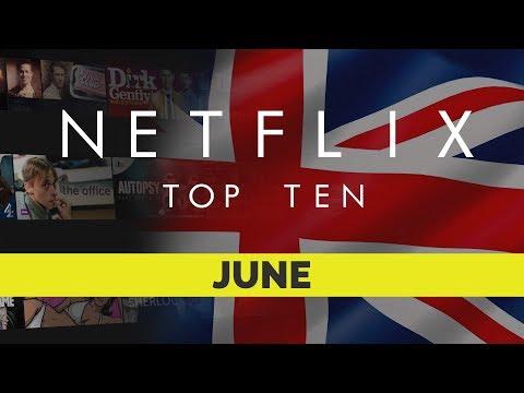 Netflix UK Top Ten for June 2018