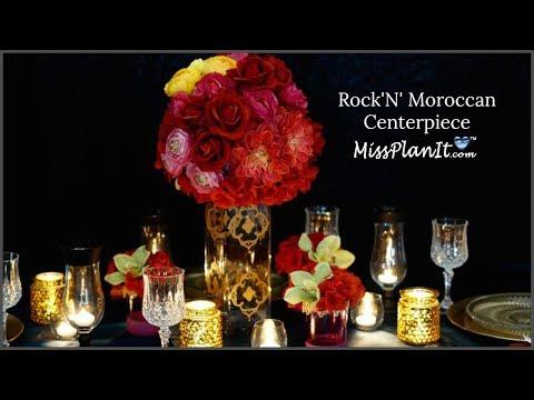 DIY  Moroccan Wedding   Centerpiece  |  DIY  Decorations  |  DIY Wedding   Tutorial