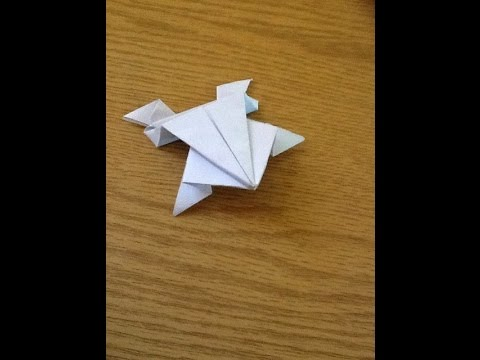 Paper Frog | Make with paper | Easy to make