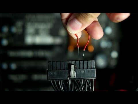 How To Test Your Power Supply With A Paperclip