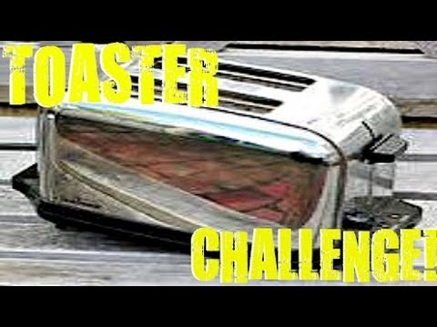 TOASTER CHALLENGE 1BLAZINEAGLE1 PARODY