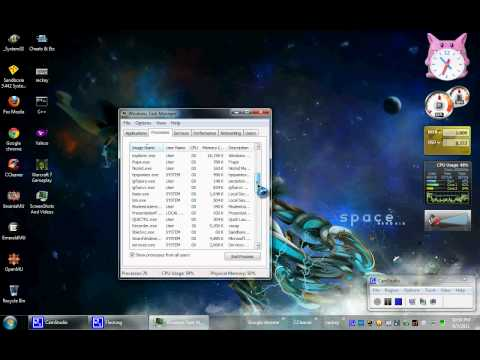 Fix pc / task manager control'panel`A window 7