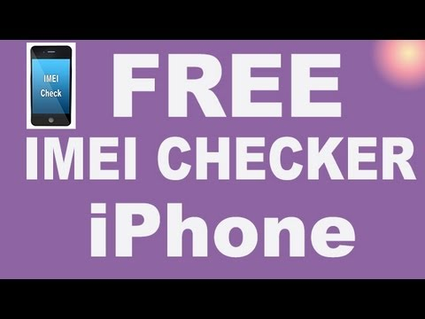iPhone IMEI CHECKER by iPhoneBrasil