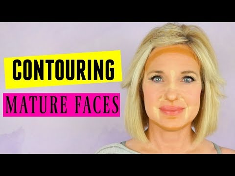 Contouring & Highlighting Tutorial! MATURE FACE