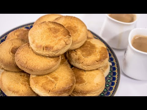 Osmania Biscuit Recipe - Indian Bakery Style Perfect Tea Salt Biscuits | CookingShooking