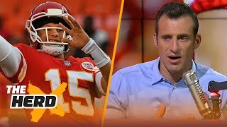Doug Gottlieb weighs in on the Pat Mahomes experiment prior to Falcons-Chiefs | NFL | THE HERD