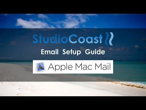 StudioCoast Email Setup Guide - Apple Mac Mail