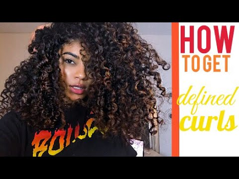 HOW TO GET DEFINED CURLS | jasmeannnn