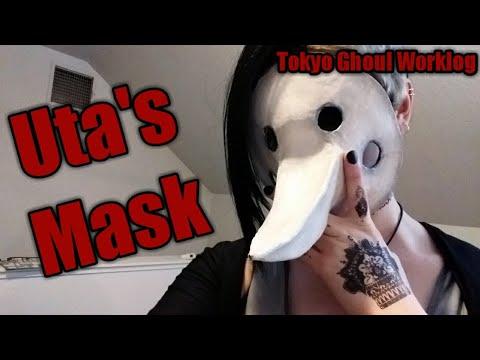 Uta's Mask Tutorial - Tokyo Ghoul Worklog