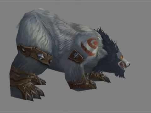 WoW Cataclysm Alpha- Worgen and Troll druid form
