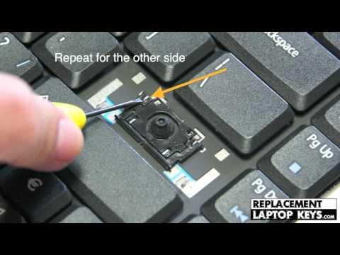 How to fix Enter key | Installing laptop keyboard key hinges