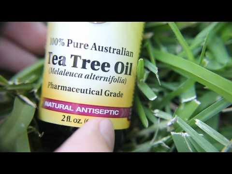 Tea tree oil for a bad nail!